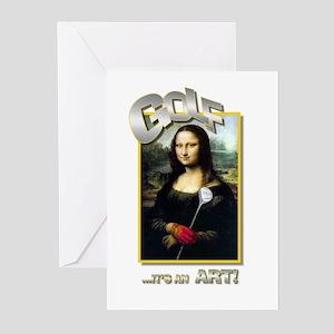 GOLFITS AN ART Greeting Cards Pk Of 10