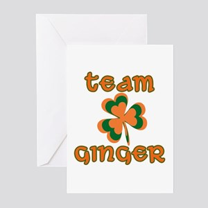 TEAM GINGER Greeting Cards (Pk of 10)