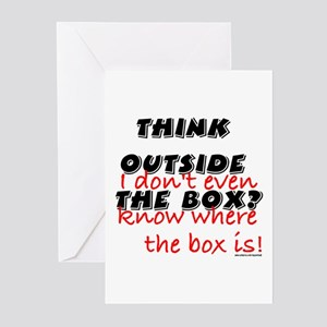 Outside the Box Greeting Cards (Pk of 10)
