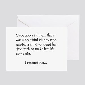 THE STORY OF NANNY Greeting Cards (Pk of 10)