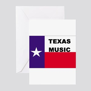 Texas Music Greeting Cards (Pk of 10)