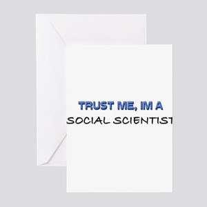 Social Science Course Greeting Cards - CafePress