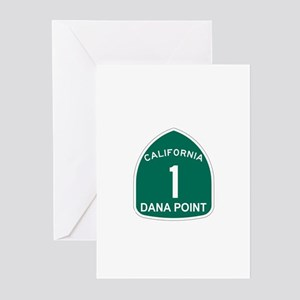 Dana Point, California Highwa Greeting Cards (Pk o