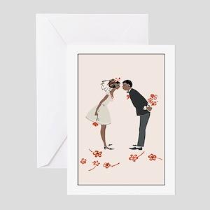 African American Wedding Greeting Cards Cafepress