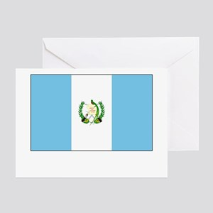 Guatemala Flag Picture Greeting Cards (Package of