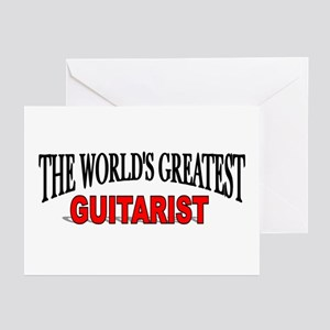 The Worlds Greatest Guitarist Greeting Cards P