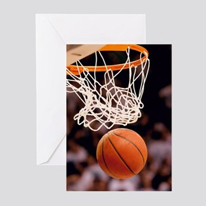 Basketball Scoring Greeting Cards