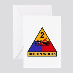 2nd AD Greeting Cards (Pk of 10)