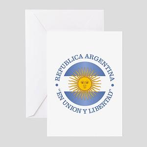 Argentine Republic Greeting Cards