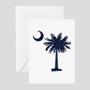 SC Flag Greeting Cards