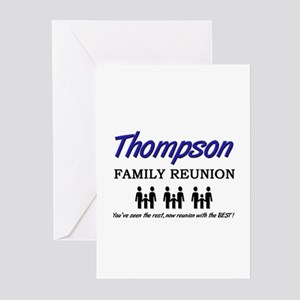 Thompson Family Reunion Greeting Cards (Package of