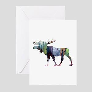 Moose Greeting Cards