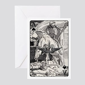TF-160 Ace of Spades Greeting Cards (Pk of 10)