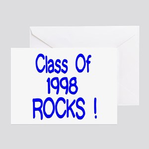1998 Blue Greeting Cards (Pk of 10)
