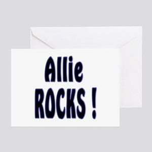 Allie Rocks ! Greeting Cards (Pk of 10)