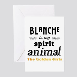 Blanche is My Spirit Ani Greeting Cards (Pk of 10)