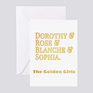 Dorothy Blanche Rose Sop Greeting Cards (Pk of 10)
