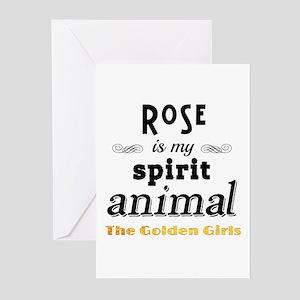 Rose is My Spirit Animal Greeting Cards (Pk of 10)