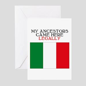 Italian Heritage Greeting Cards (Pk of 10)