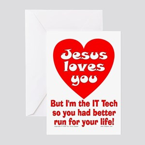 the IT Tech... Greeting Cards (Pk of 10)
