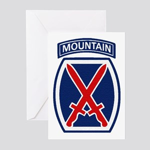 10th Mountain Division Greeting Cards (Package of