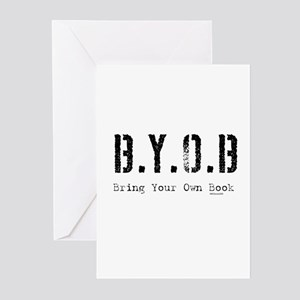 B.Y.O.B. Greeting Cards (Pk of 10)