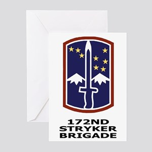 172nd Stryker Brigade<BR> 6 Greeting Cards