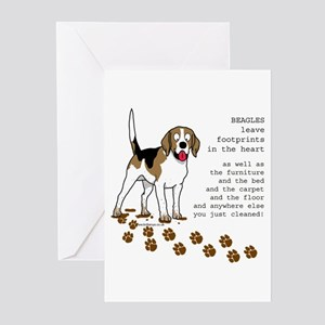 Beagles Greeting Cards (Pk of 10)