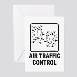 Air Traffic Control Greeting Cards (Pk of 10)
