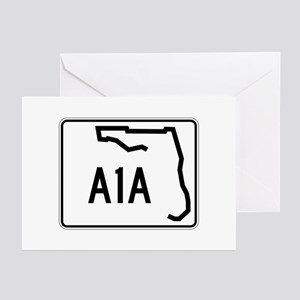 Route A1A, Florida Greeting Cards (Pk of 10)