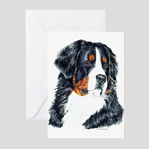 Bernese Mountain Dog Greeting Cards(6)
