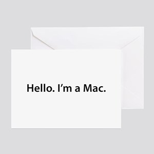 Hello. I'm a Mac Greeting Cards (Pk of 10)