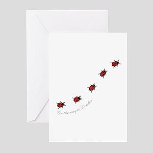 ladybird Greeting Cards (Pk of 10)
