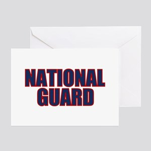 NATIONAL GUARD Greeting Cards (Pk of 10)
