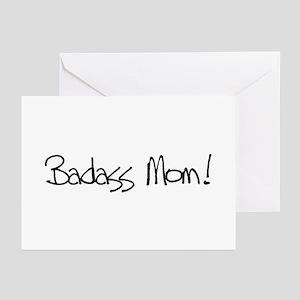 Badass Mom! Greeting Cards (Pk of 10)