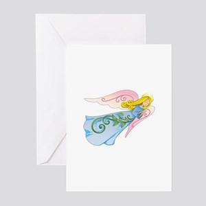 BEAUTIFUL ANGEL Greeting Cards