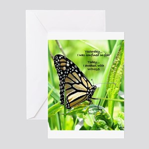 Thinking Butterfly Greeting Cards (Pk of 10)