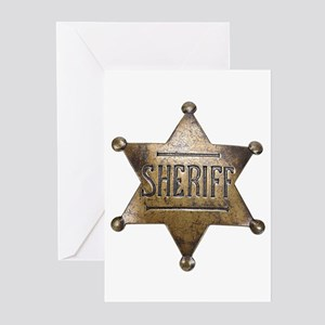 Sheriff -  Greeting Cards (Pk of 10)