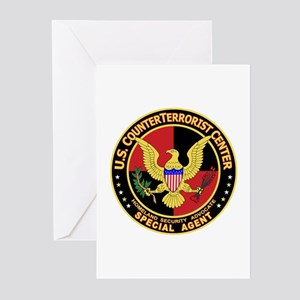 U.S. Counter Terrorist Center Greeting Cards (Pack