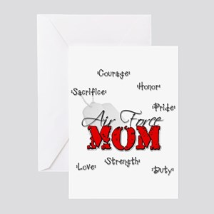 Air Force Mom Greeting Cards (Pk of 10)