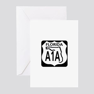 A1A Florida Greeting Cards (Pk of 10)