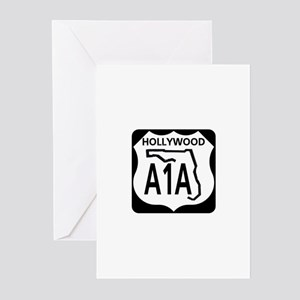 A1A Hollywood Greeting Cards (Pk of 10)