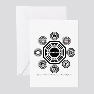Dharma Stations Greeting Cards (Pk of 10)