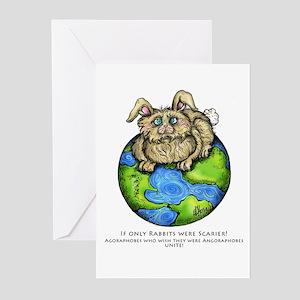 Agoraphobia Shirt Greeting Cards (Pk of 10)