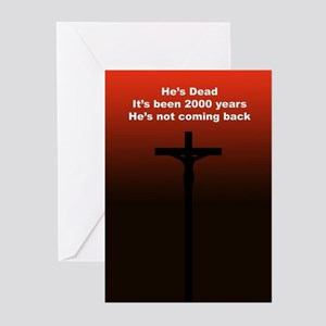 """""""Get over it!"""" Greeting Cards (Pk of 10)"""
