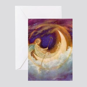 Moonboat to Dreamland Greeting Cards (Pk of 10)