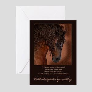 Pet Sympathy Loss of a Horse (Pk of 10)