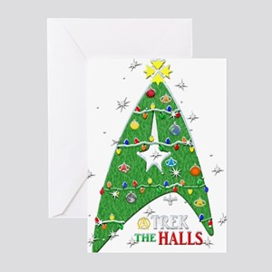 Trek the Halls Greeting Cards