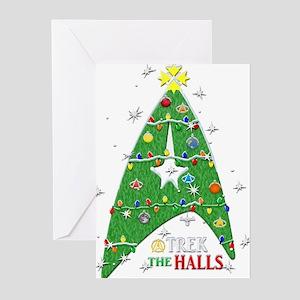 Trek the Halls Greeting Cards