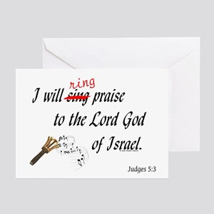 Ring Praise Greeting Cards (Pk of 10)
